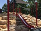 Mt. Merrill at Durham Central Park slides