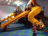 Indoor play room at Rainbow Play Systems