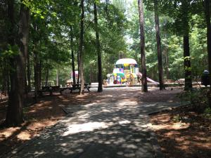Bond Park playground in Cary