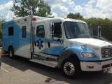 Rex's Critical Care Transport Truck