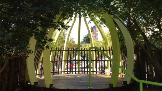 Sun Sprouts Fort at Marbles Kids Museum