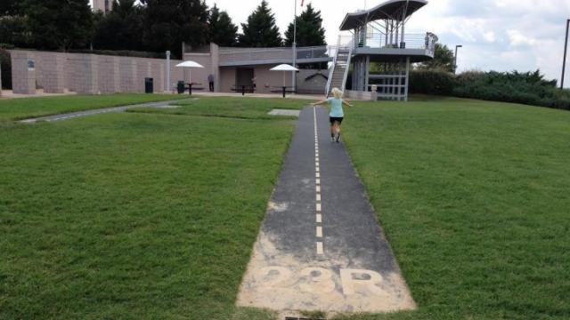 At Obersvation Park at RDU