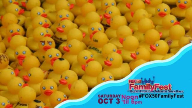 It's part of the Fox 50 Family Fest, which is noon to 5 p.m., Saturday.