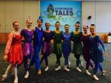 Raleigh Dance Theatre performers led a program at Marbles Kids Museum in September