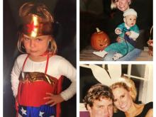 Now that she won't be trick-or-treating with either of her daughters, Amanda thinks back to the past.