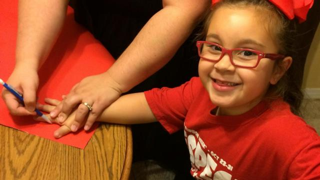 Johanna Manzlillo of Raleigh is the 2015 National Red Ribbon Week Youth Ambassador