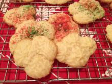 Renee Chou's spritz cookies