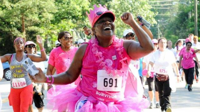 Courtesy: Triangle Race for the Cure