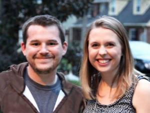 Chip Howell and Lauren McKay of Baby Makes 3