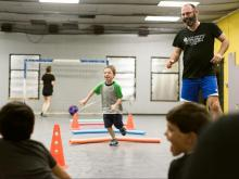 Oak City Soccer, a Cary-based program for kids with autism