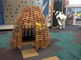 The indoor hive at Kidzu Children's Museum