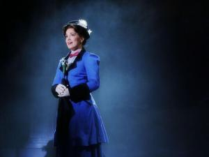 "Kara Lindsay in the N.C. Theatre's production of ""Mary Poppins"""
