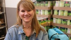 Julie Cox, Child Hunger Programs Manager at Inter-Faith Food Shuttle