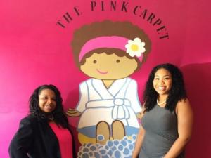 Tammy Kornegay and Alexcia Baskerville co-own The Pink Carpet in Angier