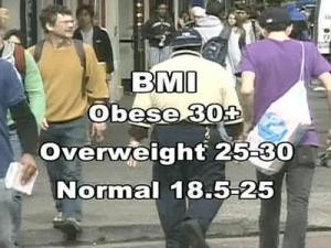A newly published study suggests that being overweight – but not obese – can offer some protection against early death from some causes.