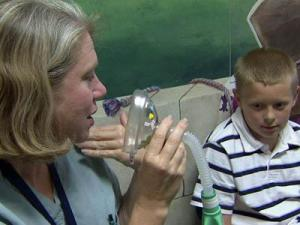 A special program at WakeMed is designed to ease anxiety children experience when preparing for surgery.
