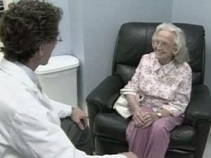 Bonnie Lowe, 89, suffers from Alzheimer's disease.