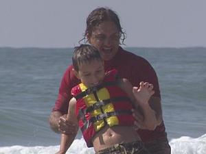 Surfer's Healing day camp is in Wrightsville Beach.