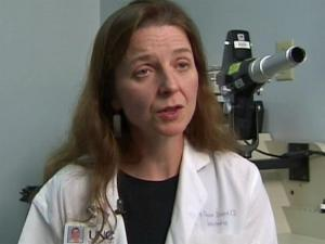 Researcher finds laser treatments better for diabetic eye problems.