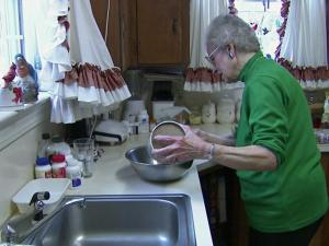 Elizabeth Carver, 86, of Jackson, says she enjoys being able to work in her kitchen again after open-heart surgery. Older patients like her are increasingly undergoing successful, complicated surgeries.