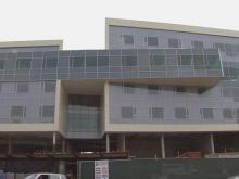 Take a tour of WakeMed's newest facility, which is still under construction.