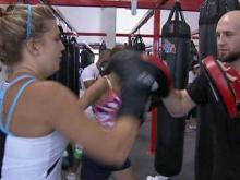 More women learn to box