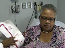 Debbie Lee, 56, suffers from high blood pressure.
