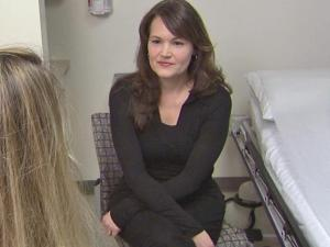 Ley Mitchell Colpitts, 41, had Oncotype DX testing to determine if chemotherapy was an appropriate treatment after she had a mastectomy and reconstructive surgery.