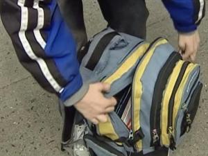 Backpacks can bring back pain