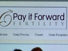 Pay It Forward Fertility is a Raleigh-based organization that helps couple's struggling with infertility get help with in vitro services.