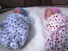 Classes prepare parents for twins