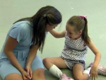 Raleigh teen introduces cerebral palsy patients to dance