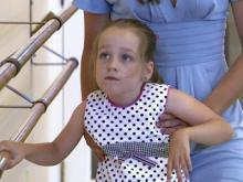 Cerebral palsy patients learn to dance
