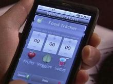 Can smart phones help with weight loss?