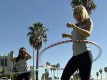 Hula hooping gets hips moving, heart pumping