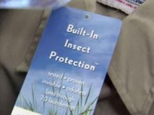 Clothes can turn off insects