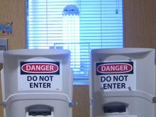 New UV light fights bacteria at local hospitals
