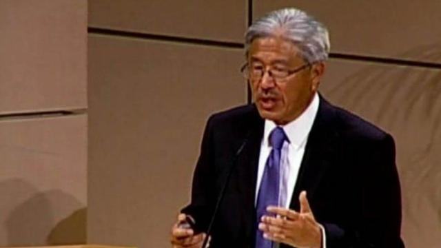 Dr. Victor Dzau, CEO of Duke University Health System