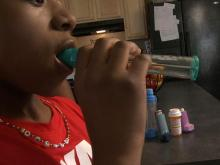 Springtime allergies can trigger asthma attacks in children