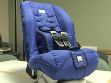 Special car seat helps infants with hip abnormalities