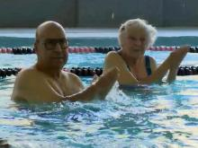 Osteoarthritis sufferers turn to water aerobics
