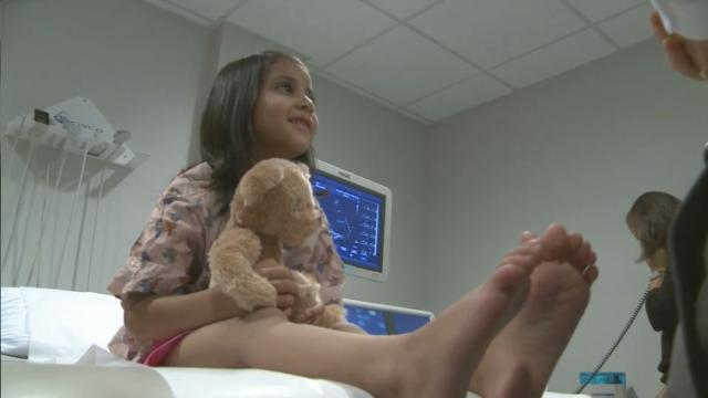 Charity, UNC Hospitals help Afghan girl