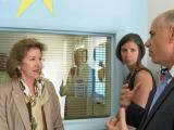 Kay Hagan at UNC hospitals