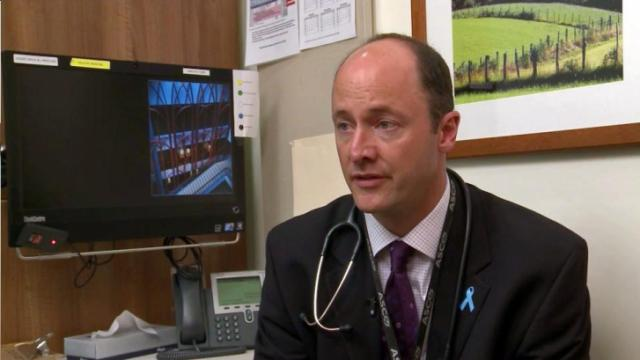 Duke surgical oncologist Dr. Andrew Armstrong