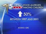 Health Team: Food allergy cases, treatments grow
