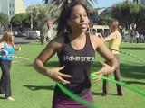 A fun way to exercise: Hula hooping