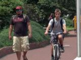 Bicycle safety: Dr. Allen Mask