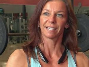 Sherry Habib hits the gym for two hours a day, six days a week