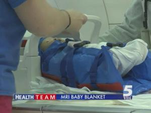Immobilization blankets are replacing sedation for some infants at Duke University Children's Hospital.