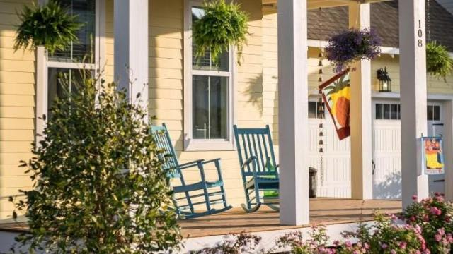 The outdoor spaces of our homes often receive more use than interior rooms. (Photo courtesy of Saussy Burbank)